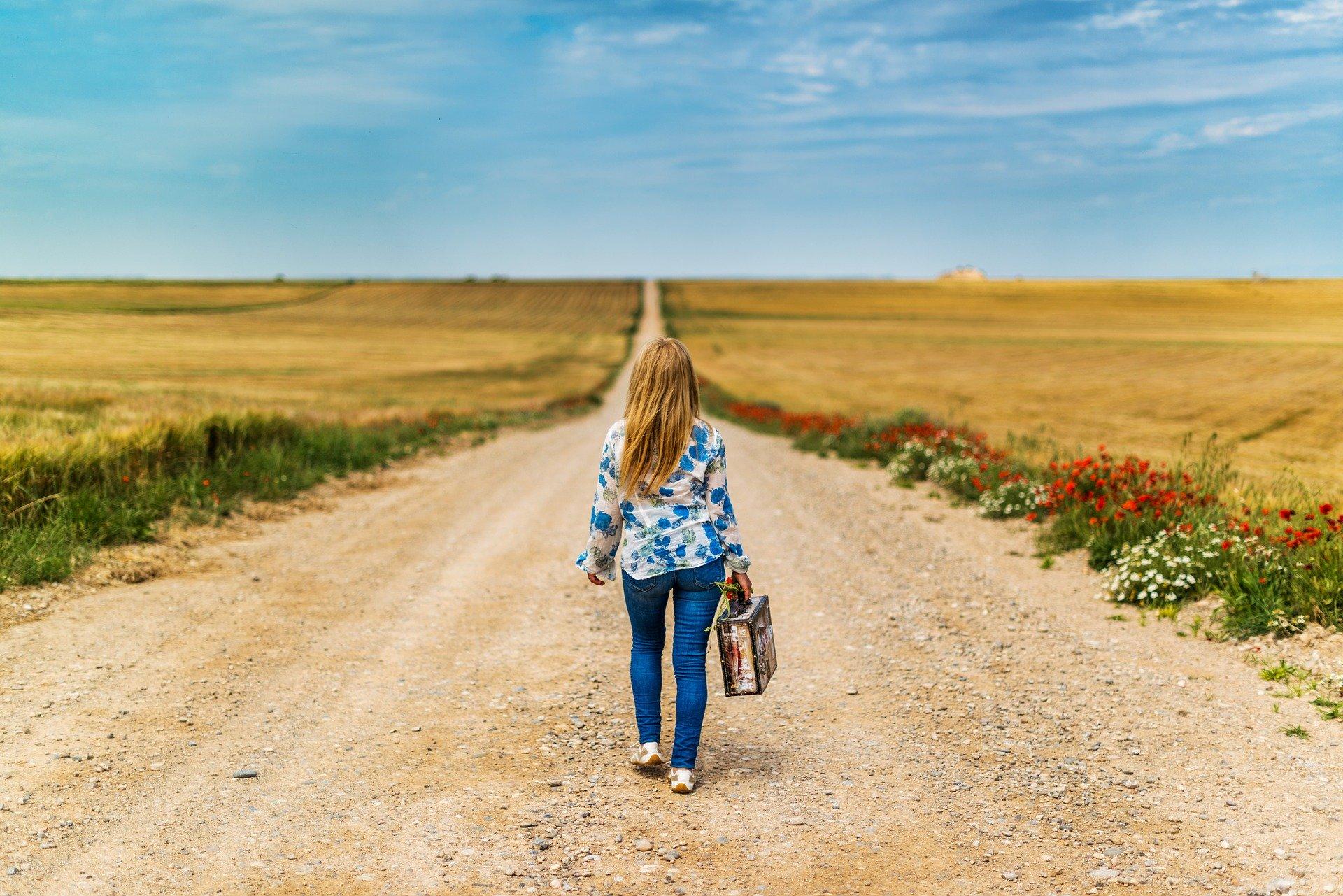 Laufen um die Distanz zu verringern